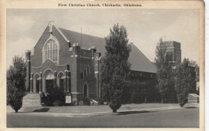 CHICKASHA, Oklahoma, 1930-50s; First Christian Church