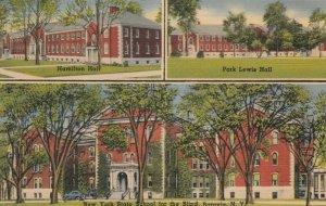 BATAVIA, NY, 1947; NY State School For The Blind, Hamilton & Park Lewis Hall