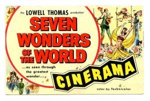 MA - Boston. Cinerama, Seven Wonders of the World
