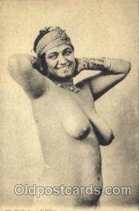 Arab Nude Post Card Post Card  Etude de nu Indigene