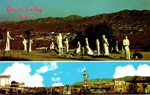 California Yucca Valley Showing Pioneertown and Desert Christ Park