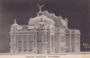 RIO DE JANEIRO, Brazil, PU-1907; Theatro Municipal