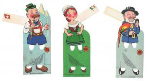 3 Lucky Strike Bridge Favors Place Cards Tallys 1930