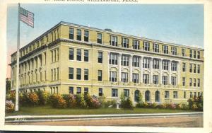 High School at Williamsport PA, Pennsylvania WB