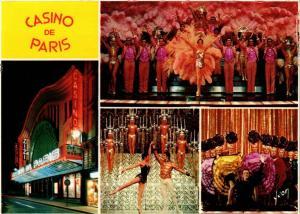 CPM Casino de PARIS - La Revue ZIZI JE T'AIME (216453)