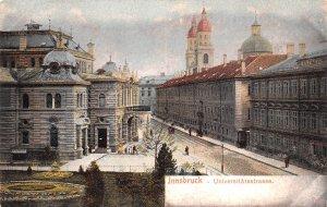Universitatsstrasse Innsbruck Austria Unused