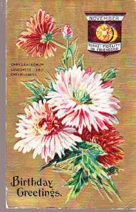 November - Flower & Gem Stone - 1909