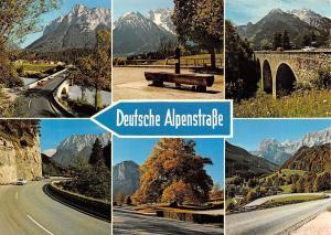 Deutsche Alpenstrasse Berchtesgadener Land, Hindenburg Linde Auto Cars Bridge