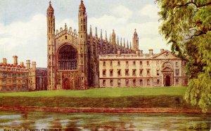 UK - England, Cambridge. Kings College Chapel.  Artist: Quinton