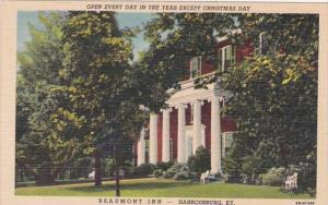 Kentucky Harrodsburg The Beaumont Inn Curteich