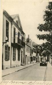SC - Charleston, Old Pettigrew House, St. Michael's Alley     Albertype