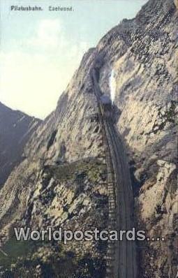 Pilatusbahn Eselwand Swizerland Unused