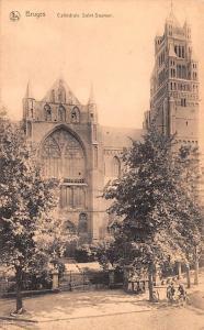 Bruges Belgium, Belgique, Belgie, Belgien Cathedrale Saint Sauveur Bruges Cat...