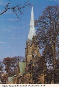 Christ Church Cathedral , FREDERICTON , New Brunswick , Canada , PU-1990
