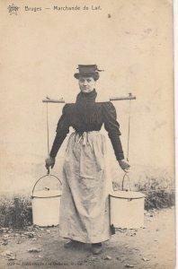 BRUGES , Belgium , 1900-10s ;  Marchande de Lait