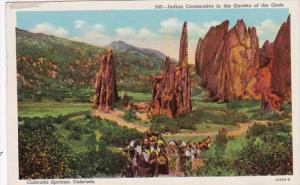 Colorado Indian Ceremonies In Garden Of The Gods