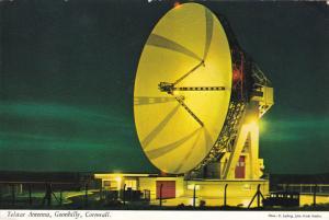 Telsar Antenna , Goonhilly , CORNWALL , England , PU-1974