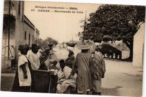 CPA Senegal-Dakar-Marchands de Cola (235381)
