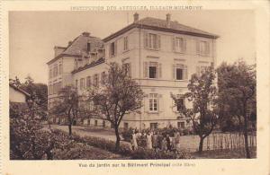 France Illzach-Mulhouse Vue Du Jardin sur le Batiment Principal Institution d...