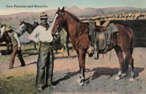 Cow Puncher and Broncho, 1911