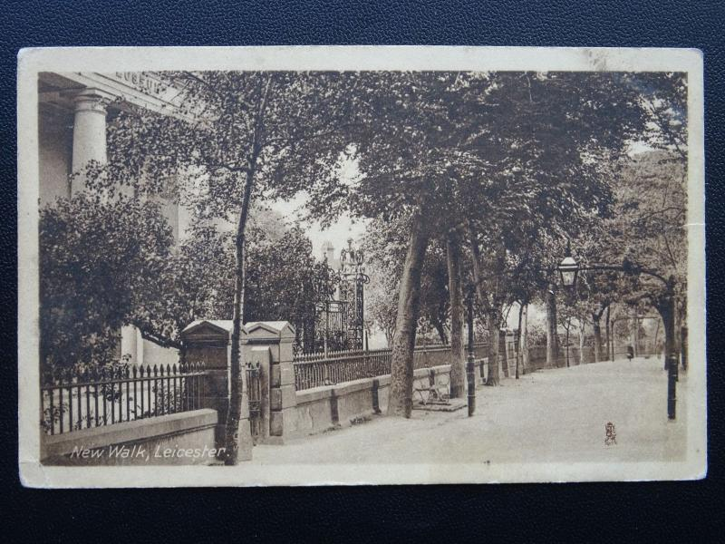 Leicester NEW WALK c1913 Postcard by Raphael Tuck & Sons 1902