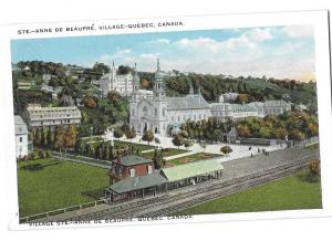 STE Anne De Beaupre Village Quebec Canada