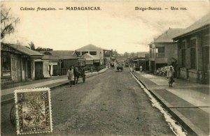 CPA AK DIEGO-SUAREZ Une rue MADAGASCAR (709612)