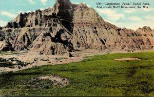 South Dakota Badlands National Monument Cedar Pass Inspiration Point&qu...