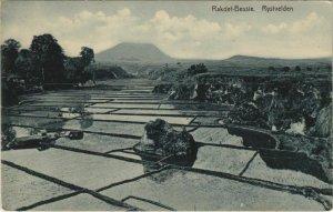 CPA AK INDONESIA Rakoet-Bessie. Rystvelden (342304)