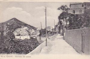 CAPRI , Italy , 00-10s; Entrata del paese