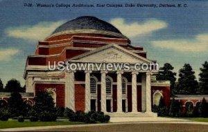 Duke University in Durham, North Carolina