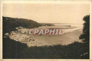 Old Postcard The beautiful beaches of Normandy Carteret 4380