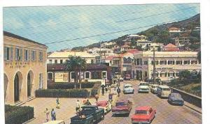 Main Square, St Thomas, Virgin Islands, 40-60s
