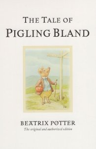 The Tale Of Pigling Bland Beatrix Potter Book Postcard