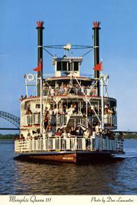 USA - Mississippi River, Memphis Queen III Sternwheeler