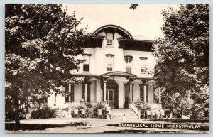 Myerstown Missouri~Burd Evangelical Retirement Home~Albright College~1940s B&W