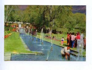 195383 INDIA KASHMIR Nishat bagh old postcard