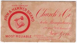 Arm & Hammer Soda, Church & CO Soda