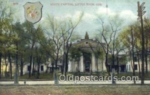 Little Rock, Arkansas, AR State Capital, Capitals Postcard Post Card USA  Lit...