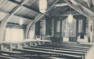 New York Moravia The Interior Of Lakeside Chapel Caswasco Artvue