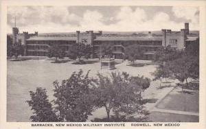 New Mexico Roswell Barracks New Mexico Military Institute Albertype