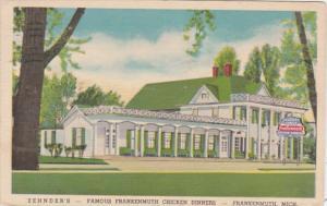 Michigan Frankenmuth Zehnders Restaurant 1947