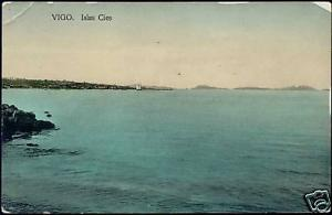 spain, VIGO, Islas Cies, Panoama (1910s)