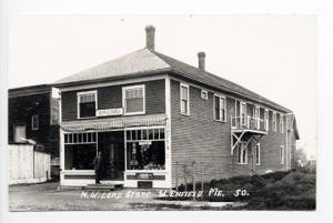 West Enfield ME Street View Store Front RPPC Real Photo Postcard
