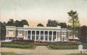 CHAUTAUQUA, New York, PU-1907; Colonnade ; TUCK 6043