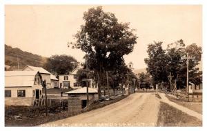 Vermont   East  Randolph ,  Main Street , RPC