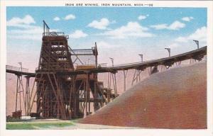 Iron Ore Mining Iron Mountain Michigan