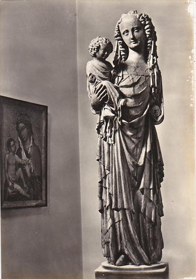 Czech Republic Holy Virgin with Child called Michelska 1330 Galerie v Praze P...