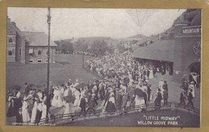 Willow Grove Park , Pennsylvania , 1908 ; LITTLE MIDWAY
