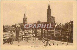 Postcard Old Strasbourg Place Kleber